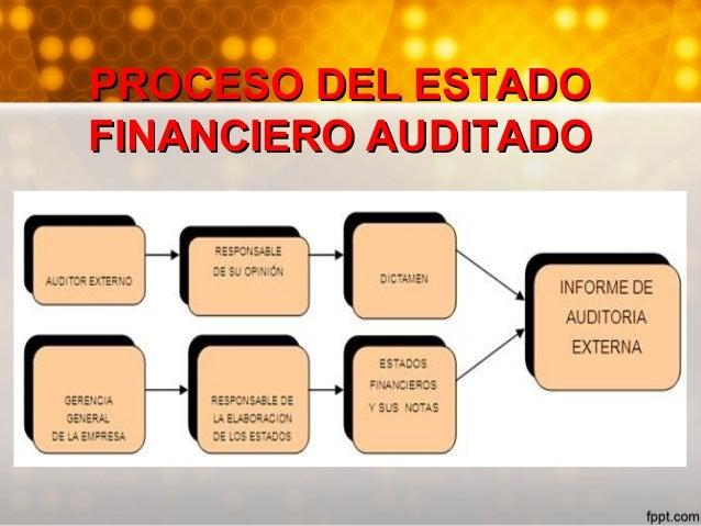 • Aquellos que son publicados por compañías legalmente independientes que muestran la posición financiera y la utilidad, t...