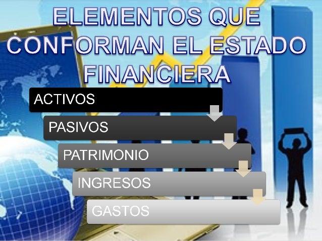 LOS PRINCIPALES ESTADOS FINANCIEROS