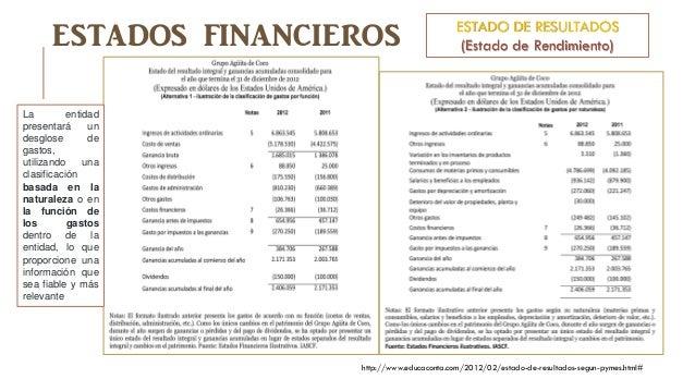 Estados Financieros Con Propósito De Información General