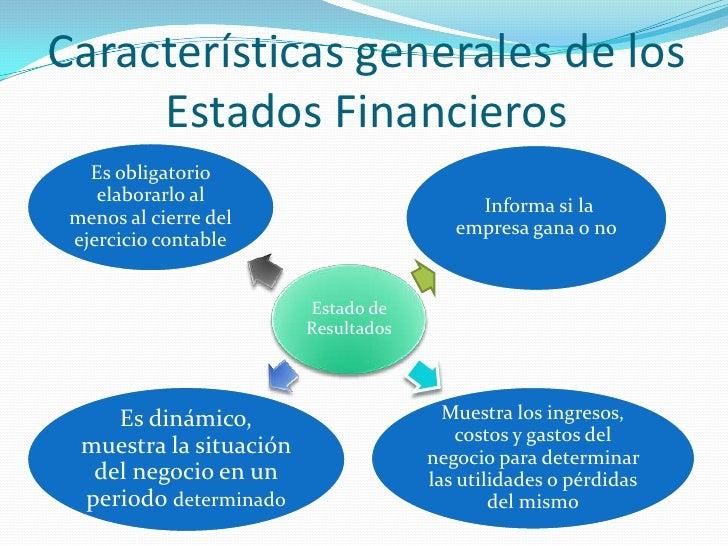 Estados Financieros Equipo 5 Contabilidad