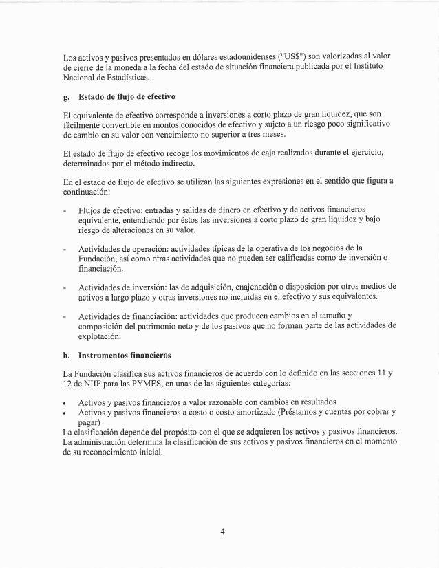 Estados financieros fundacion imagina al 31.12.2014