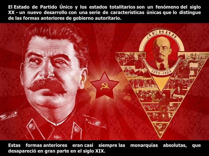 Resultado de imagen de partido totalitarios