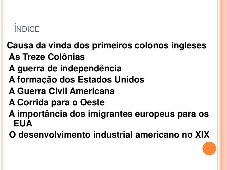 Estados Unidos da América Slide 2