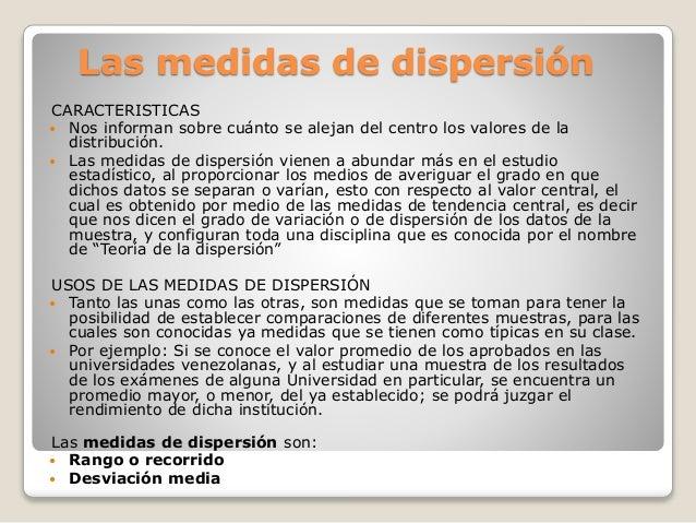 Estadística I Medidas de dispersión Slide 2