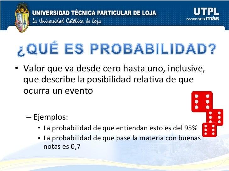 Estadística Probabilidad Slide 2
