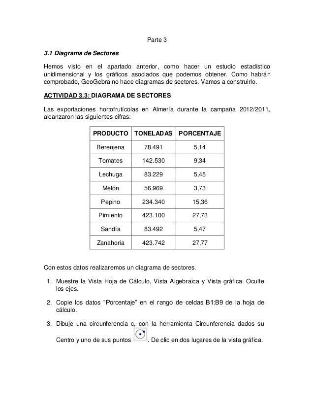 Estadística y probabilidad con Geogebra (tercera parte)