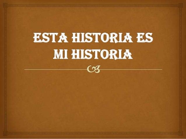 MI PASADO   Nací en Málaga el 25/8/1998 aunque mi familia es cordobesa por lo que me bauticé en Córdoba.