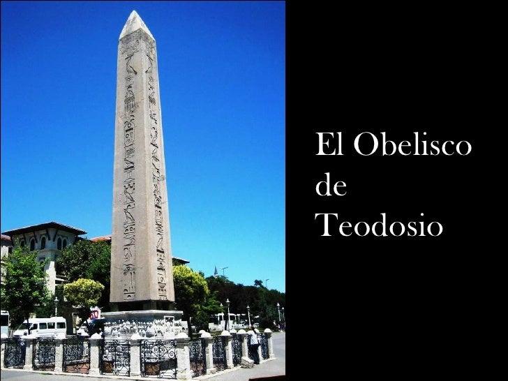 El Obelisco de Teodosio