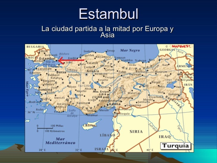 Estambul La ciudad partida a la mitad por Europa y Asia