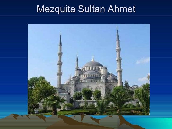 Mezquita Sultan Ahmet