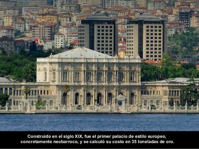 Solo kilómetro y medio más allá vemos Çırağan Sarayi, el Palacio Çırağan.  Data del siglo XIX pero fue reconstruido en 191...