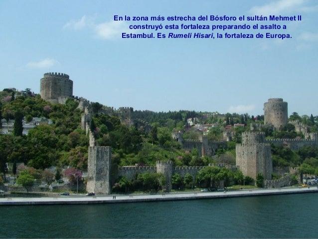 Enfrente se halla la algo menos espectacular Fortaleza de Asia,  construida 50 años antes, en el siglo XIV, por orden del ...