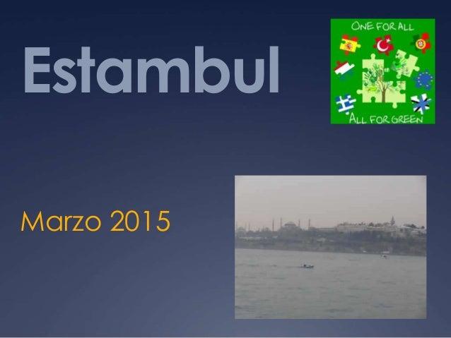 Estambul Marzo 2015