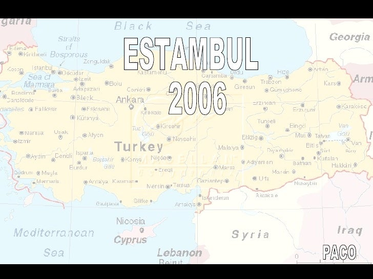 ESTAMBUL 2006 PACO