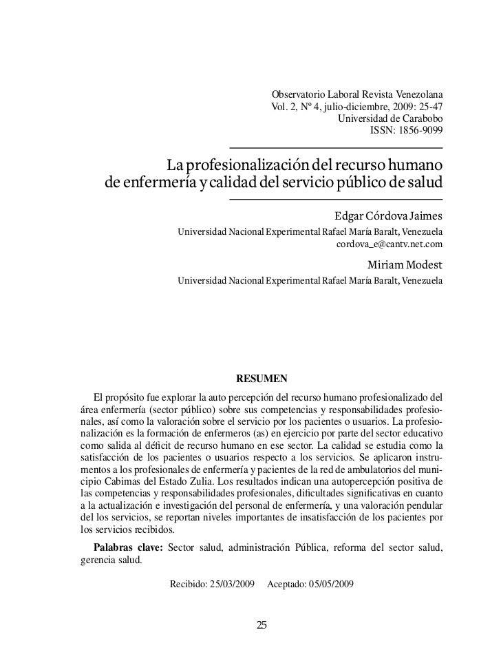 Observatorio Laboral Revista Venezolana                                                  Vol. 2, Nº 4, julio-diciembre, 20...
