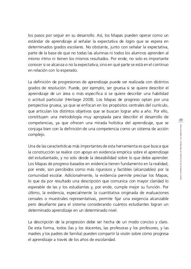 51 IDEASCENTRALESDELOSMAPASDEPROGRESOYSUARQUITECTURA Como señalan Forster y Masters (1996), la práctica de tratar a todas ...