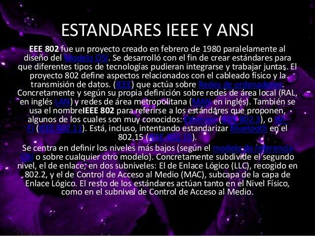 ESTANDARES IEEE Y ANSI Slide 2