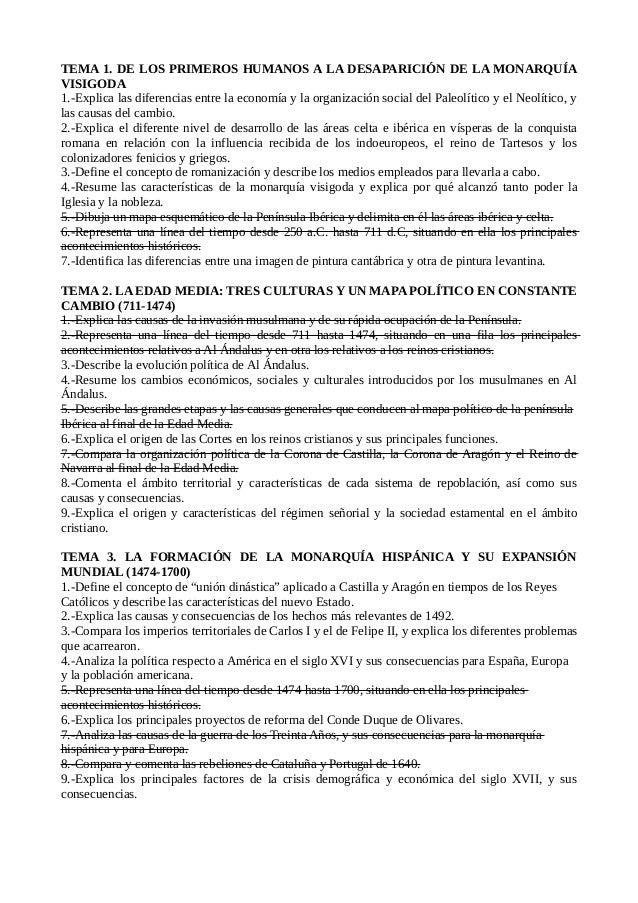 TEMA 1. DE LOS PRIMEROS HUMANOS A LA DESAPARICIÓN DE LA MONARQUÍA VISIGODA 1.-Explica las diferencias entre la economía y ...