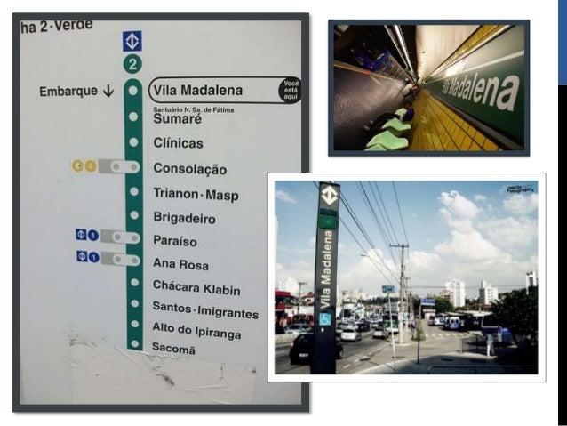 Estação vila madalena Slide 2