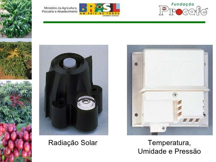 Radiação Solar Temperatura, Umidade e Pressão