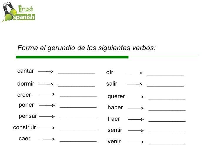 Estar + gerundio | Spanish / Español A2