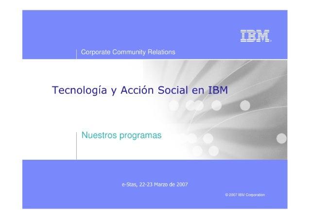 e-STAS IBM