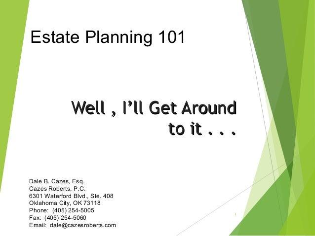 planning a presentation