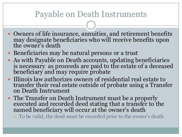 Estate Planning Who What Why
