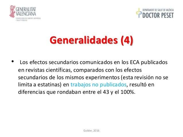 Reacciones Adversas a Estatinas (por Dantés Tórtola)
