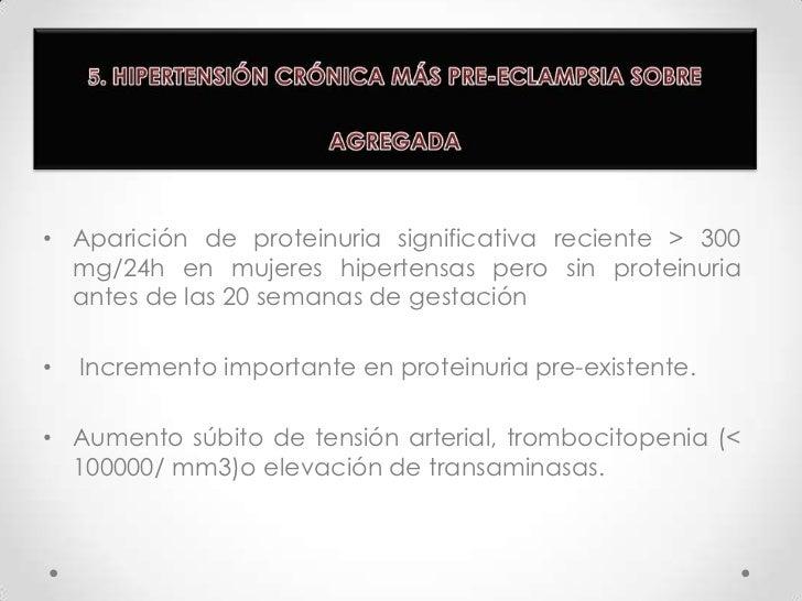 1. HIPERTENSIÓN GESTACIONAL<br />