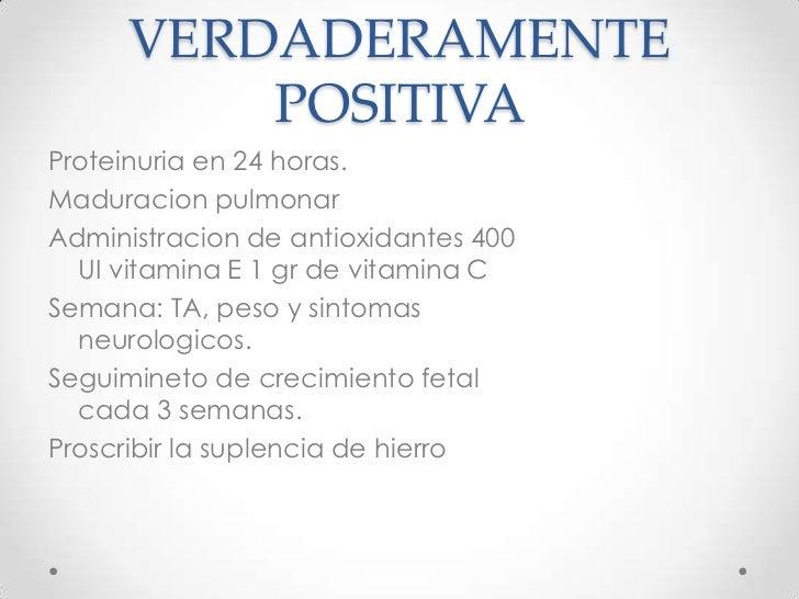 Coma prolongado.</li></li></ul><li>4. HIPERTENSIÓN CRÓNICA<br /> ESENCIAL: TA > 140/90 mmHg documentada previa al embarazo...