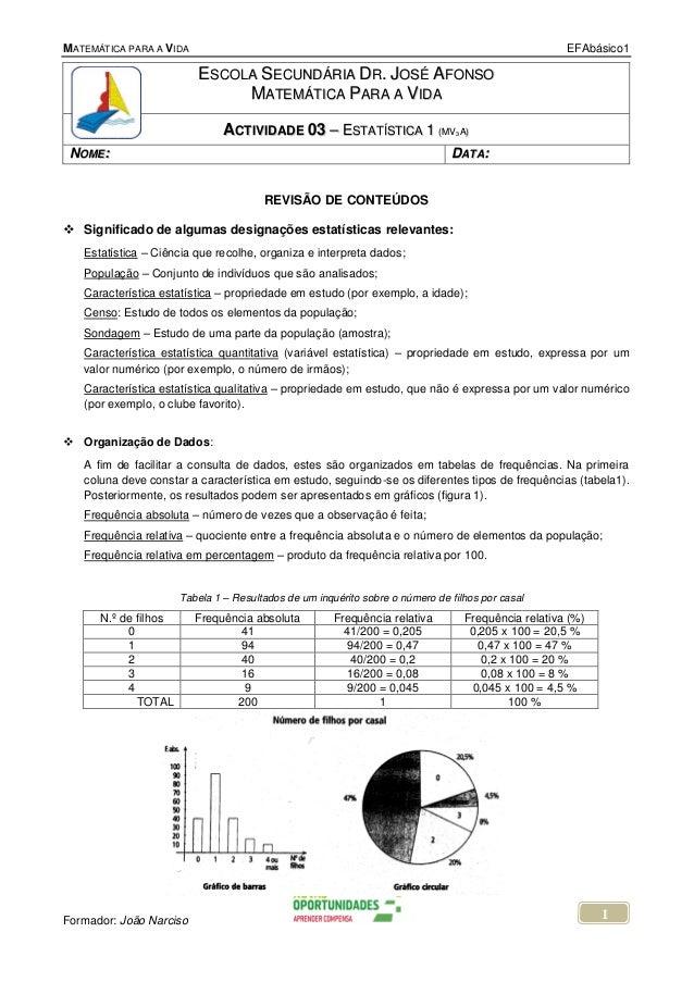 MATEMÁTICA PARA A VIDA                                                                                EFAbásico1          ...