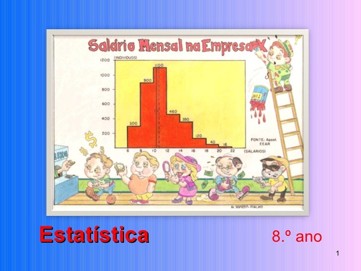 Estatística  8.º ano