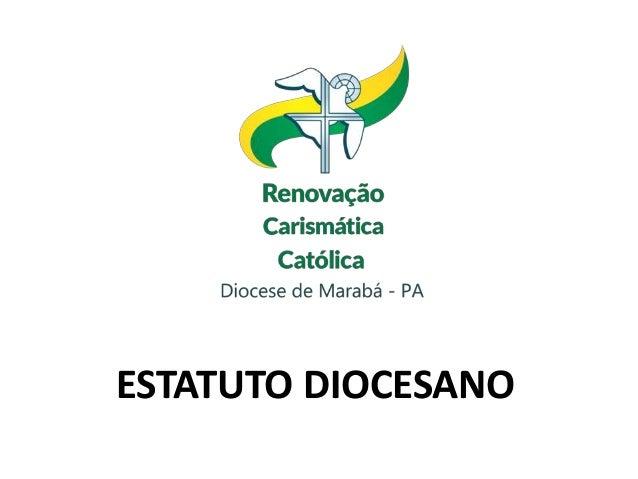 ESTATUTO DIOCESANO