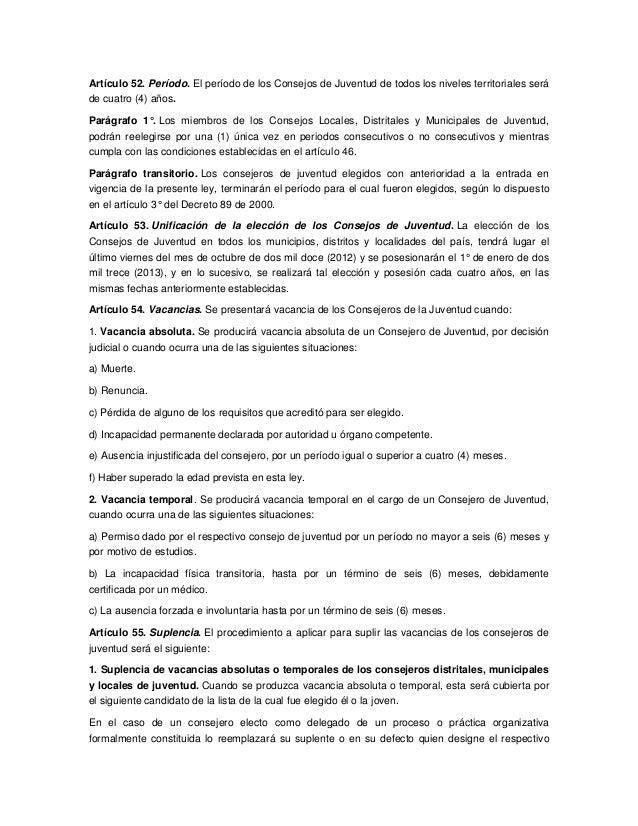Estatuto de ciudadania juvenil Colombia
