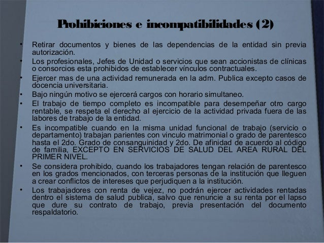CARRERA ADMINISTRATIVA SISTEMA DE GESTION DE RECURSOS HUMANOS