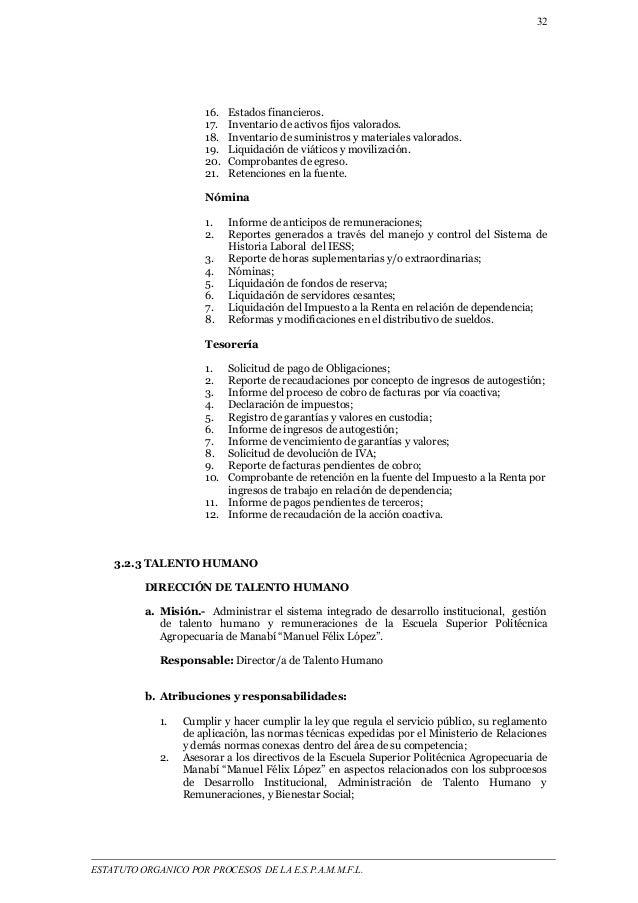 32  16. Estados financieros.  17. Inventario de activos fijos valorados.  18. Inventario de suministros y materiales valor...