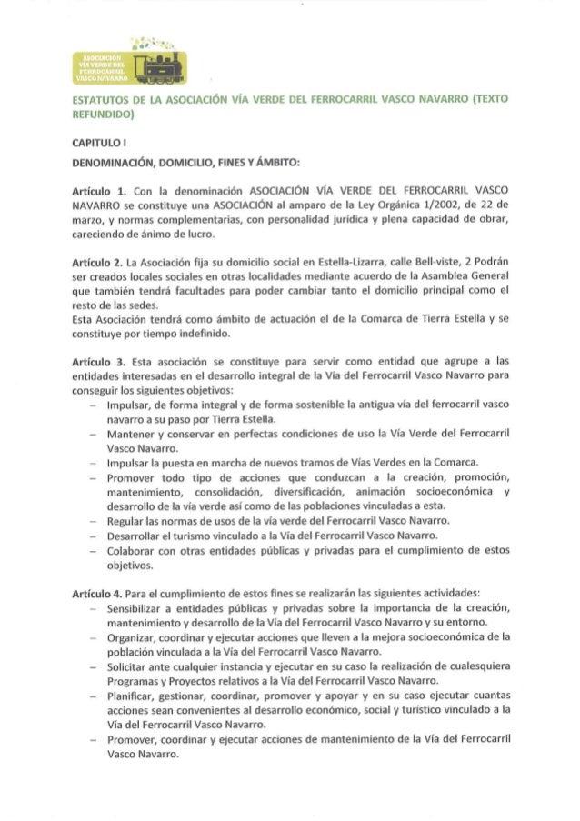 Estatutos avvfvn-2015