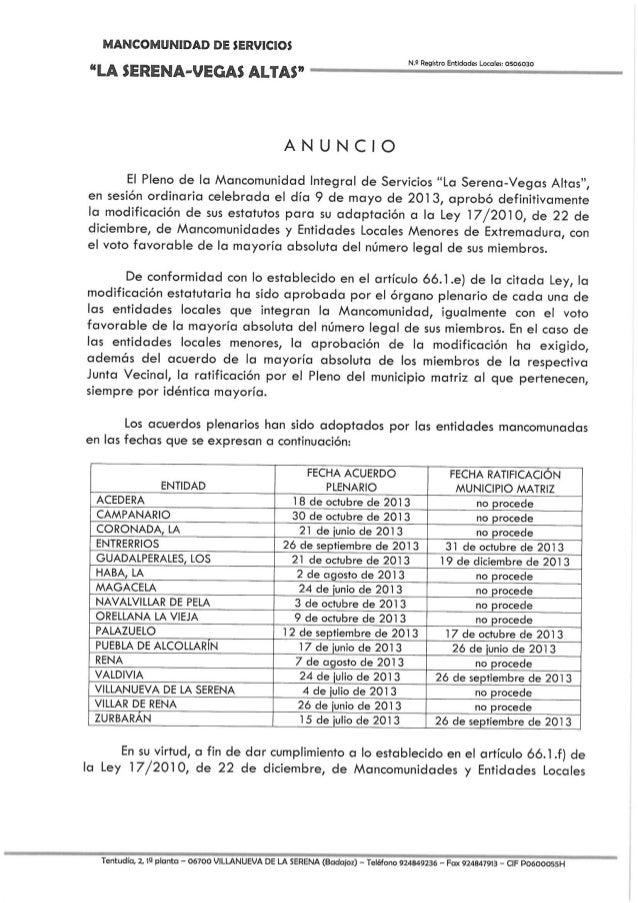 Estatutos 2014