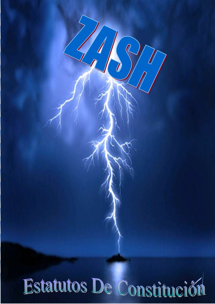 Estatutos de Zash