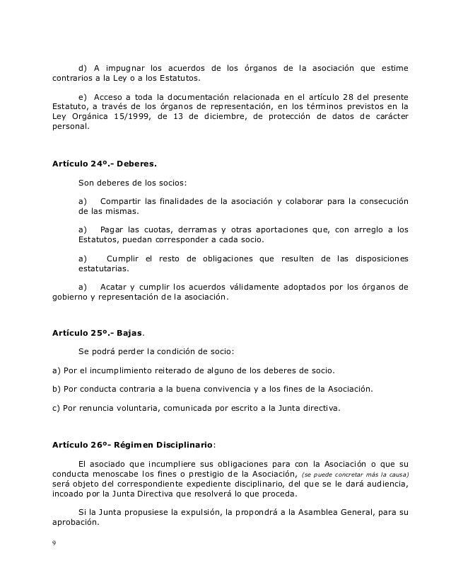 Estatutos offside ocio y tiempo libre for Ley del offside