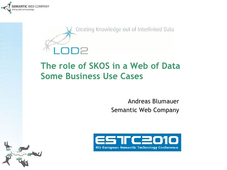 The role of SKOS in a Web of Data Some Business Use Cases Andreas Blumauer Semantic Web Company