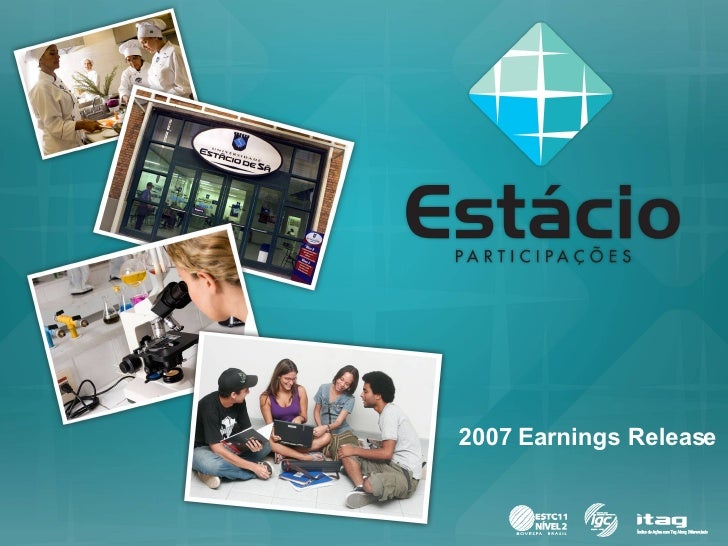 2007 Earnings Release