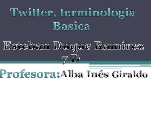 Microblogging . Twitter Bueno, ya has dado el paso, de tu blog al twitter, ¡ahora también microblogueas!, ¿pero que son to...