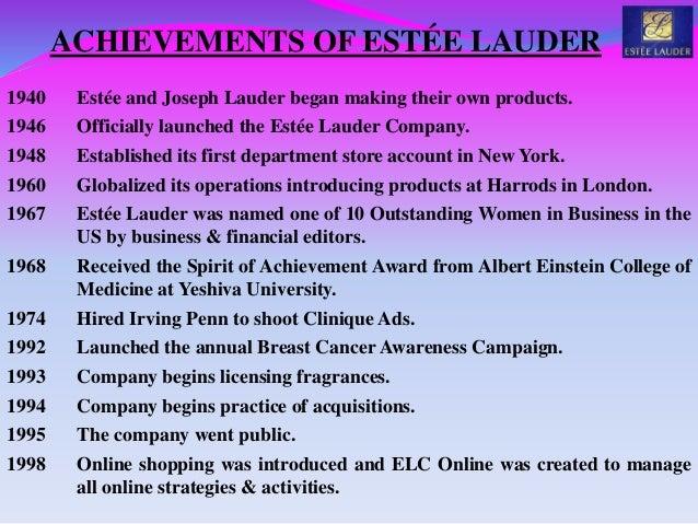 estee lauder swot Discover beauty at esteelaudercom, your destination for high-performance skincare, makeup, fragrance, videos, more free shipping & returns.