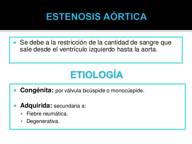 Estenosis Aortica Slide 2