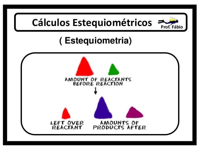 Cálculos Estequiométricos Prof. Fábio ( Estequiometria)