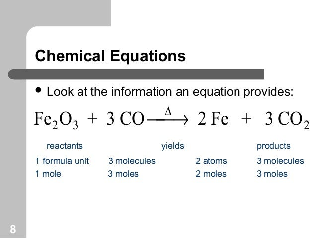 Mole Relationship In A Chemical Equation Custom Paper Academic Service