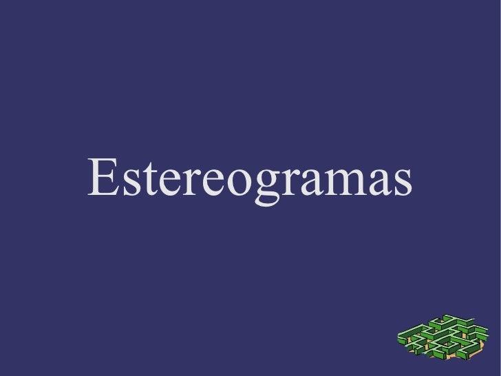 Estereogramas