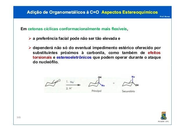Estereoquimica - Pós-graduação